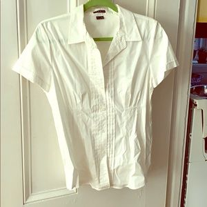 Theory short sleeved button down